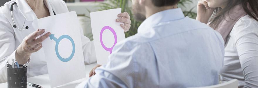 bébé de sexe masculin
